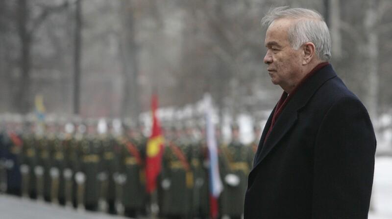 President of Uzbekistan Islam Karimov la