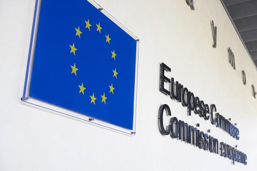Exterior Of European Commission Building