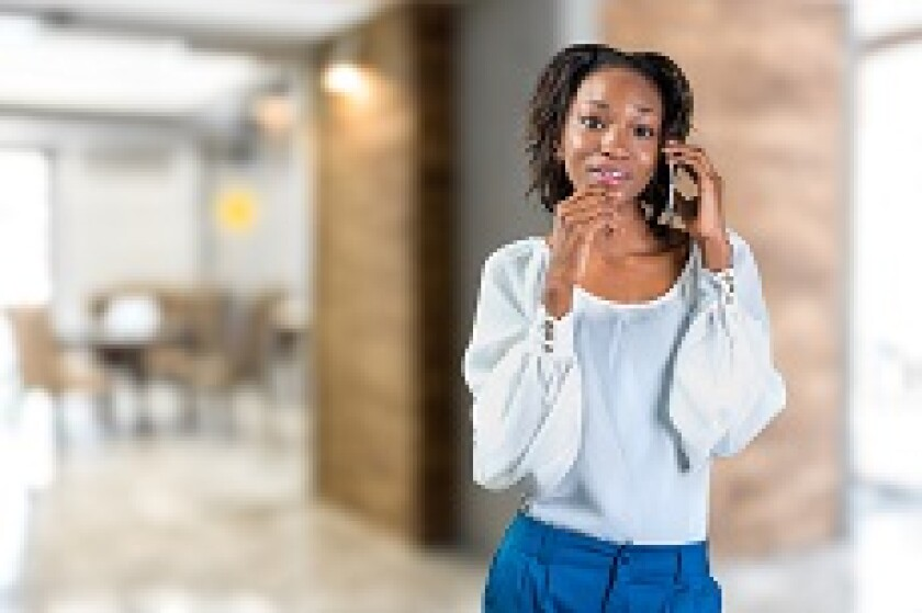 Africa woman entrepreneur phone from Adobe 230x150