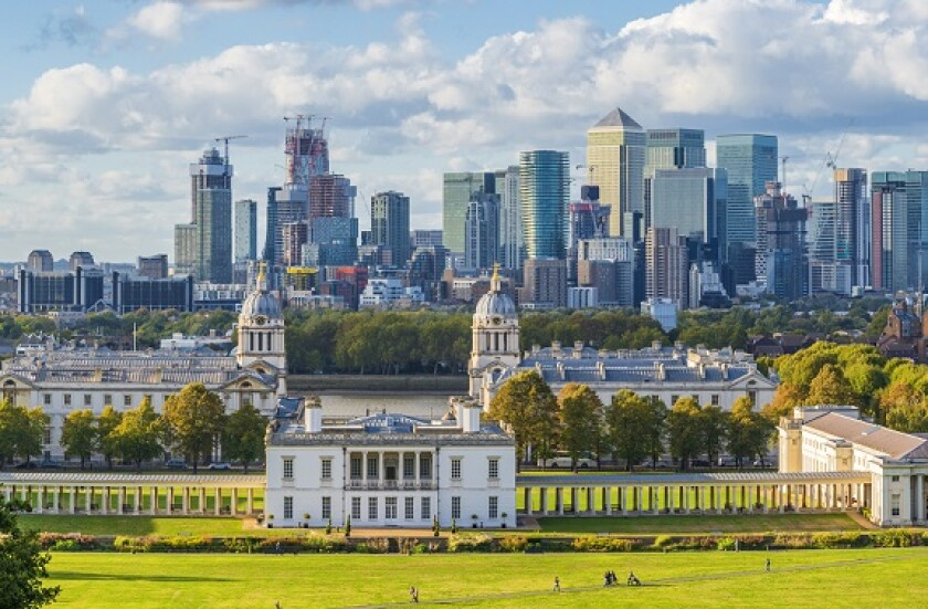 UK green City London finance Greenwich from Adobe 30Jun20 575x375