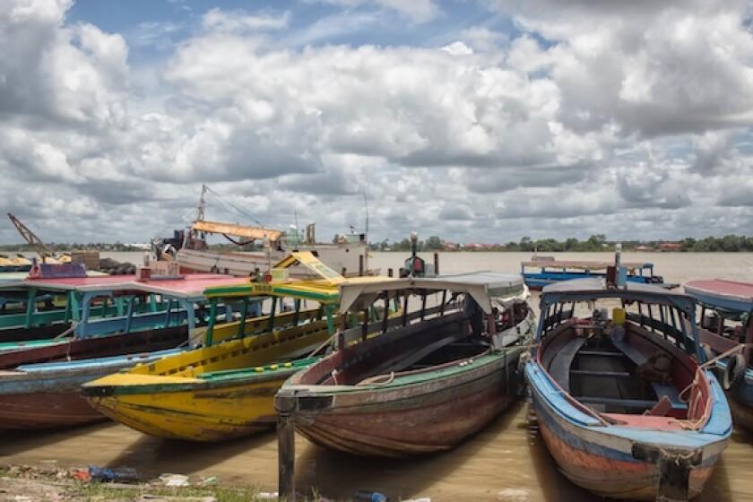 Suriname, Paramaribo, boats, river, LatAm, jungle, 575