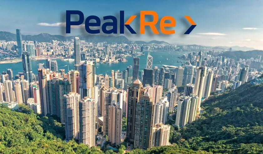 Hong Kong Panorama city View from The Peak