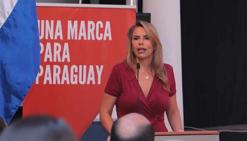 Liz Cramer, Paraguay's minister for industry and commerce.jpg