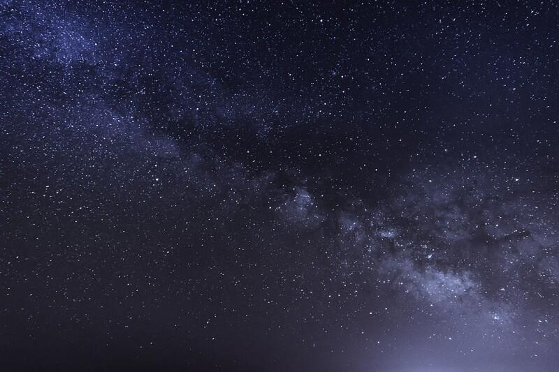night scene milky way background