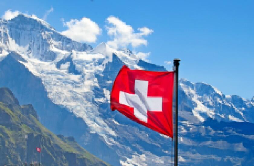 Swiss flag adobe stock