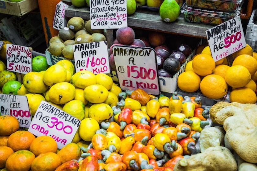 Costa Rica, fruits, sweet, LatAm, market, Central America, 575