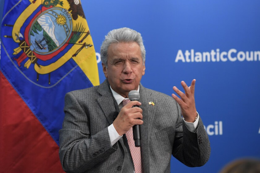 Ecuador, Lenin Moreno, president, restructuring, grace period, default