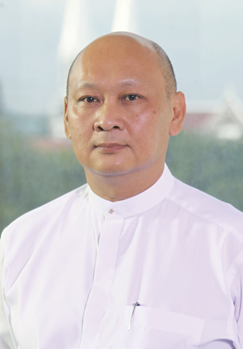 U Kyaw Lynn, Executive Vice Chairman and Chief Executive Officer, CB Bank.jpg