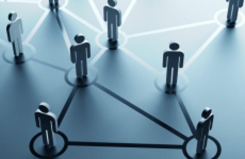 Network communication cloud link adobe stock
