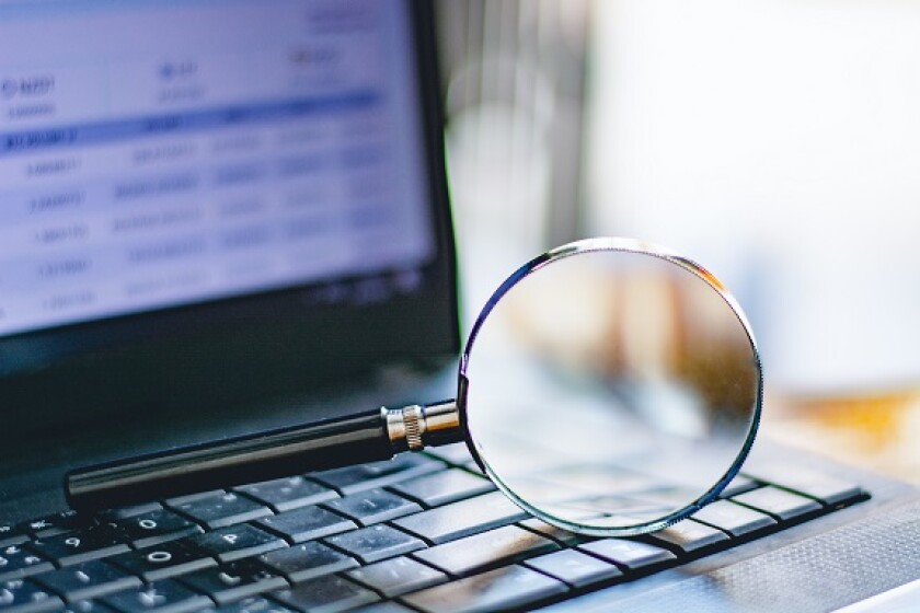 Magnifying glass due diligence from Adobe 17Aug20 575x375