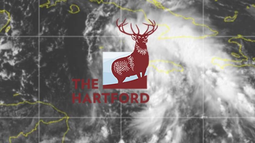 The Hartford logo with hurricane Ida satellite.jpg