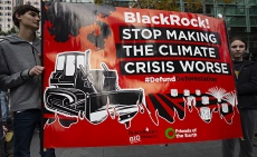 Climate protest against BlackRock 2019 from PA 16Jan20 230x150