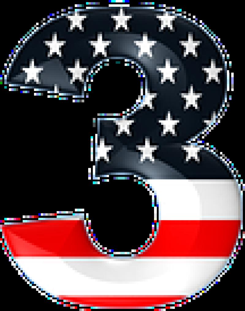 US numbers 3 three-108x137
