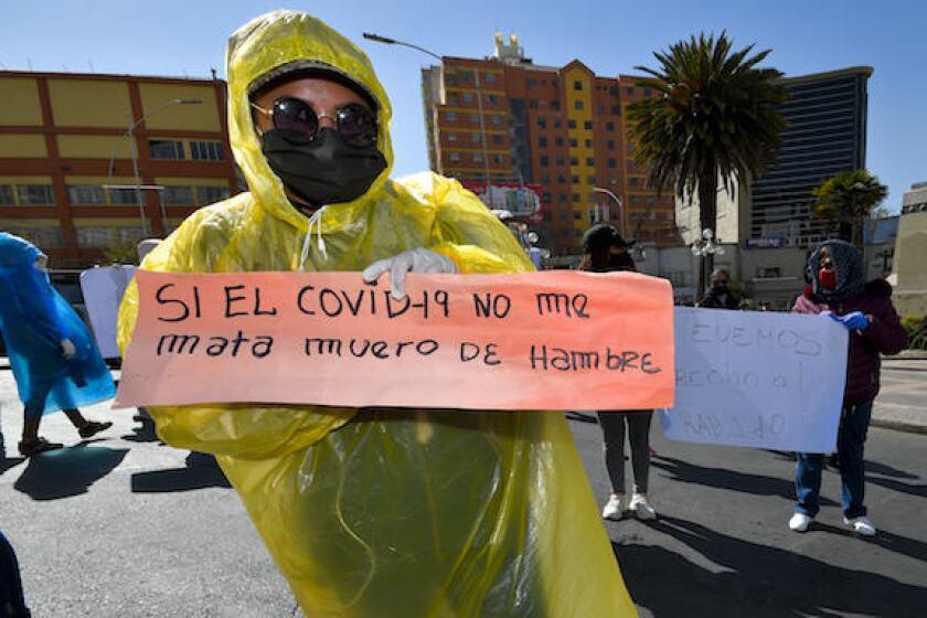 Bolivia, Coronavirus, hambre, hunger, Covid, latAm, 575