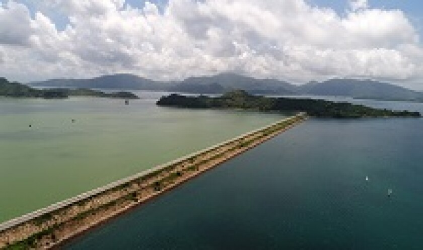 Hong Kong green lake and blue sea from PA 230x150