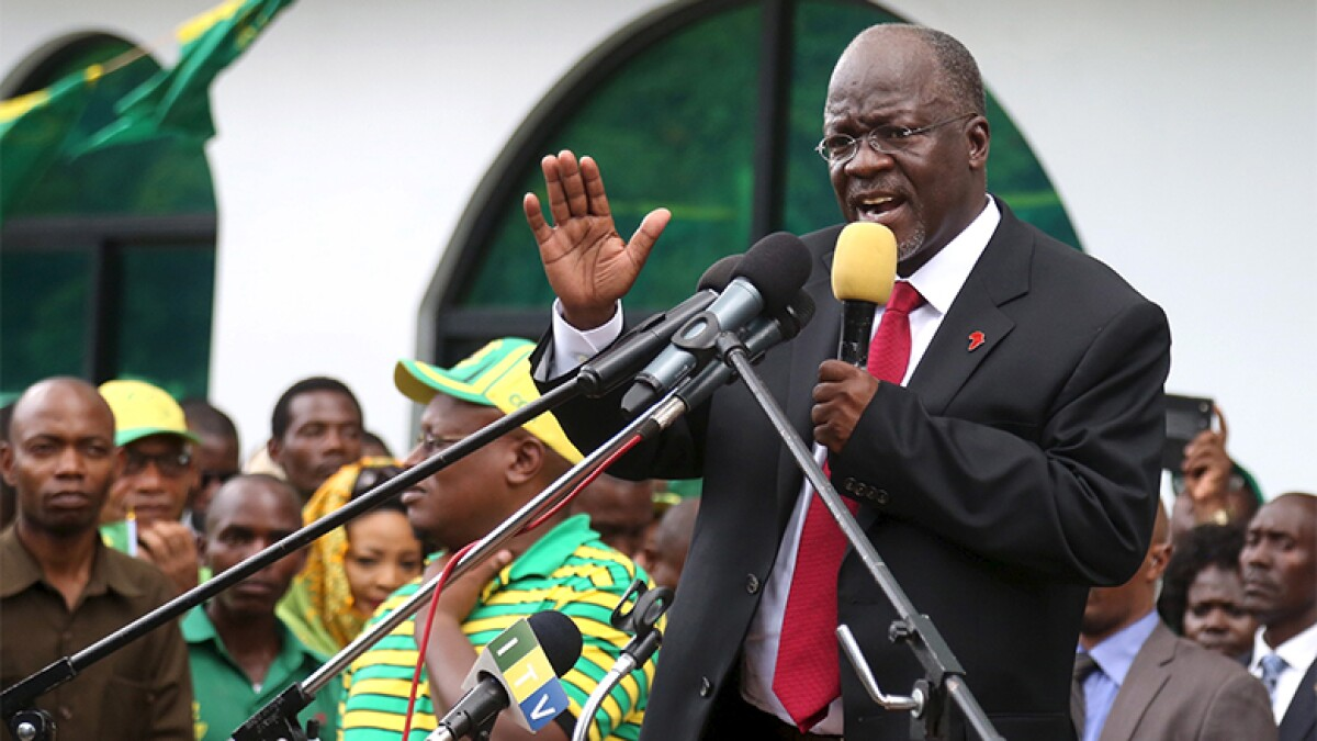 Euromoney Political crackdown harms Tanzania's infrastructure ambitions