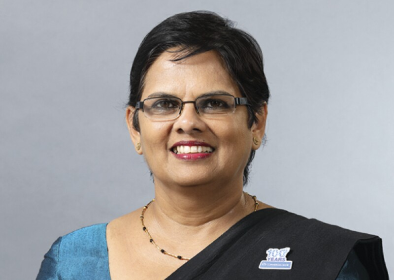 Sandra Walgama, Commercial Bank of Ceylon