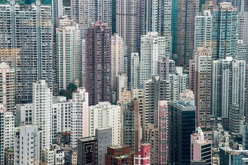 Hong Kong skyscrapers-600