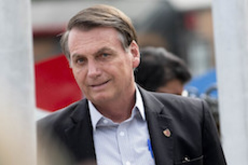 Jair Bolsonaro, Brazil, president, trade, Trump, LatAm