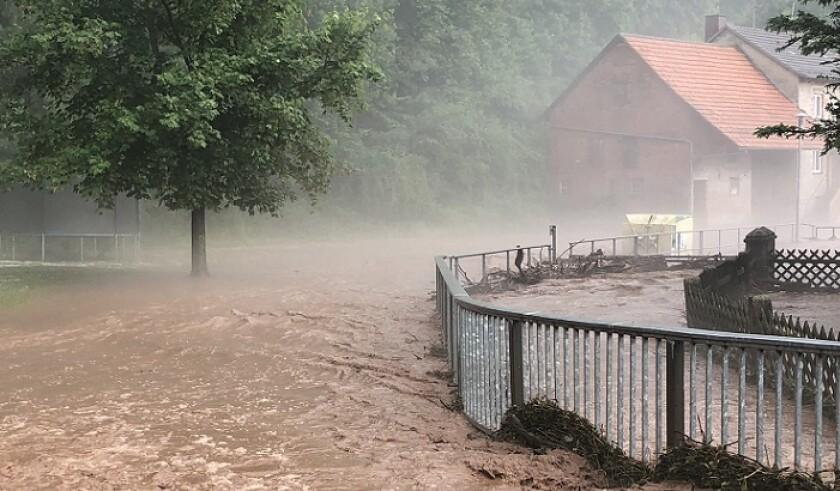Storm in Hesse