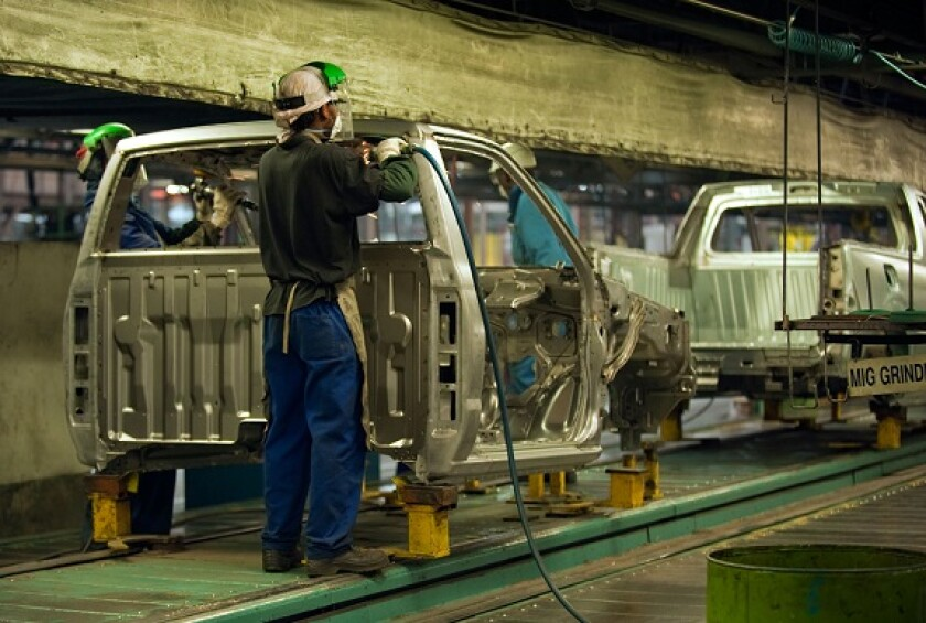 Car factory manufacturing South Africa from Alamy 29Apr21 575x375