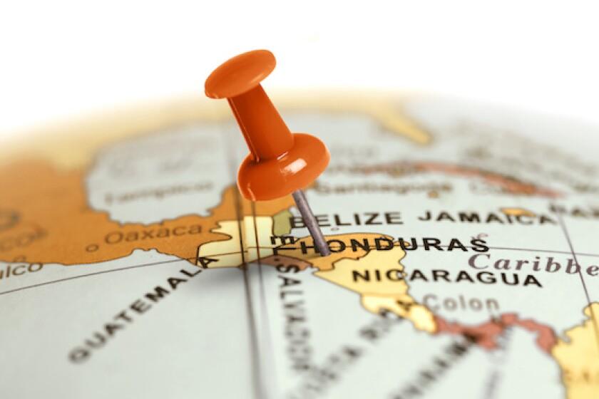 Central America, Cabei, BCIE, integration, map, Honduras, Guatemala, Nicaragua, El Salvador, 575