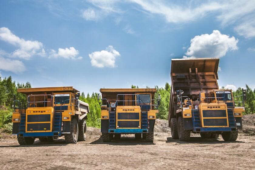 Russia, Belaz, trucks, mining, 575, CEEMEA