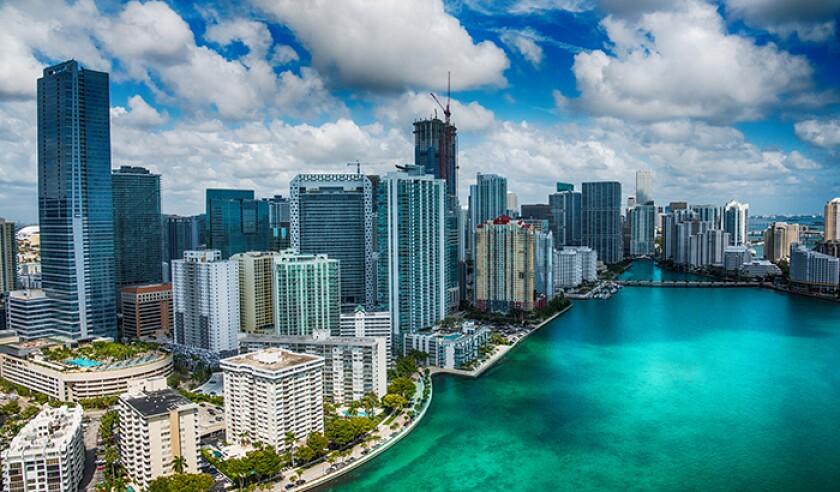 Downtown Miami Aerial