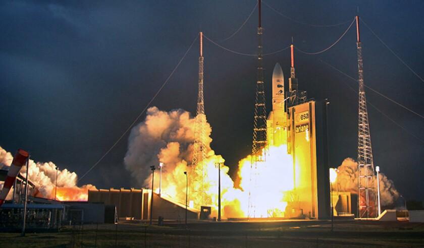 40 Years Of Ariane Space Launcher