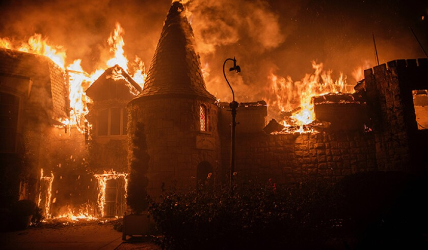 California Wildfires 2020: Glass Fire