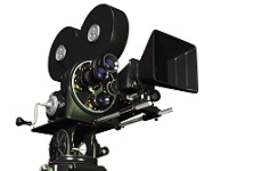 Movie camera 230x150