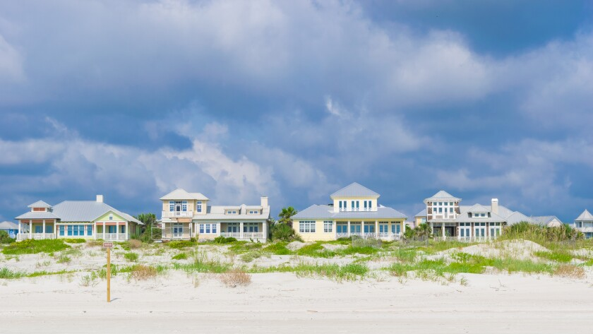 Vacation Beach Houses in St. Augustine, Florida