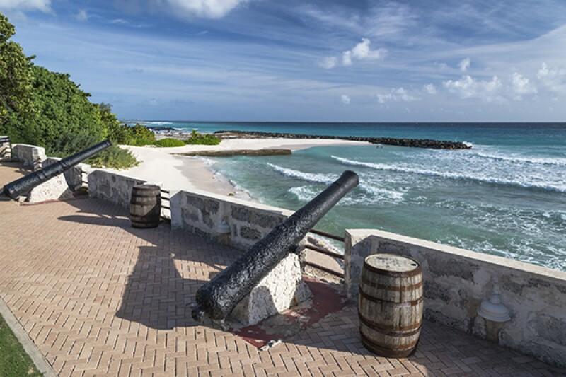 Barbados cannons security-600