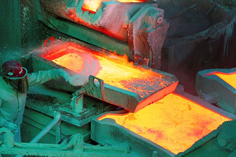 Copper melting-R-600