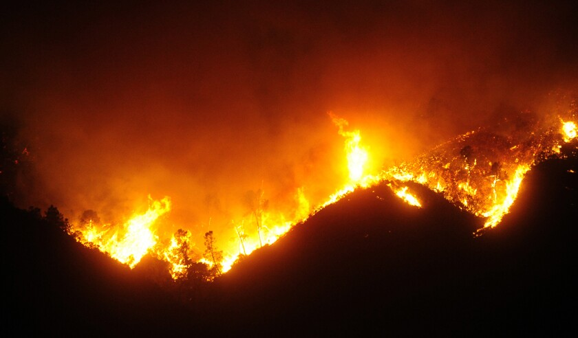 California Wildfires 2020: River Fire