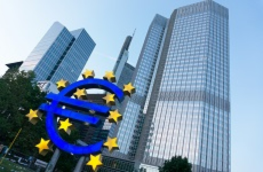ECB 230x150 euro sculpture