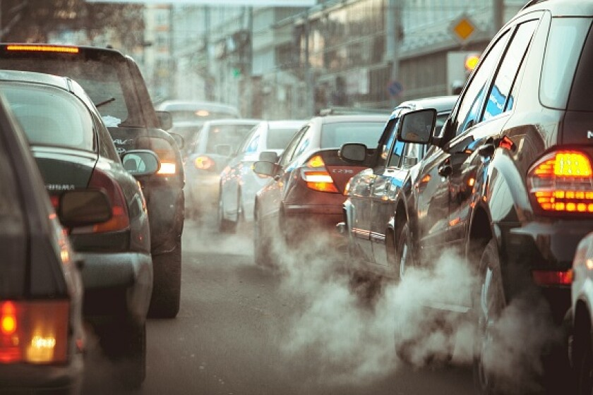 Cars traffic jam pollution road climate from Adobe 22Oct20 575x375