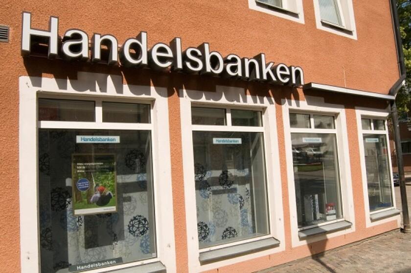 handelsbanken sweden swedish bank banks Scandinavian Scandinavia high street