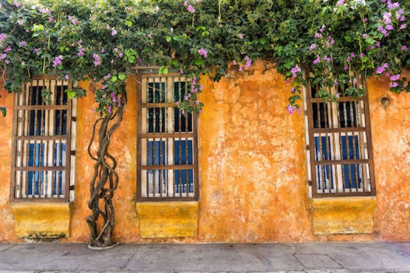 Cartagena de Indias, Colombia, 575, LatAm, windows, old town, colonial architecture