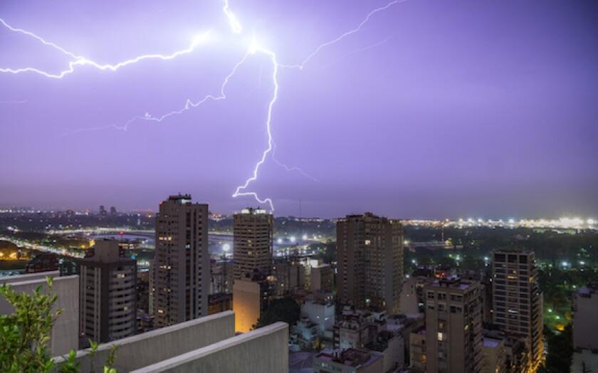Argentina, Buenos Aires, storm, YPF, LatAm, 575, lightning