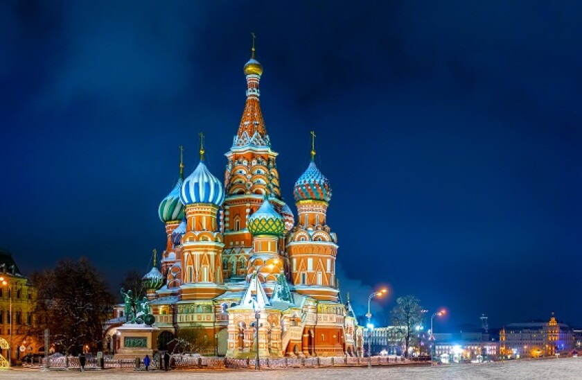 Moscow, Cathedral, St-Basil's,