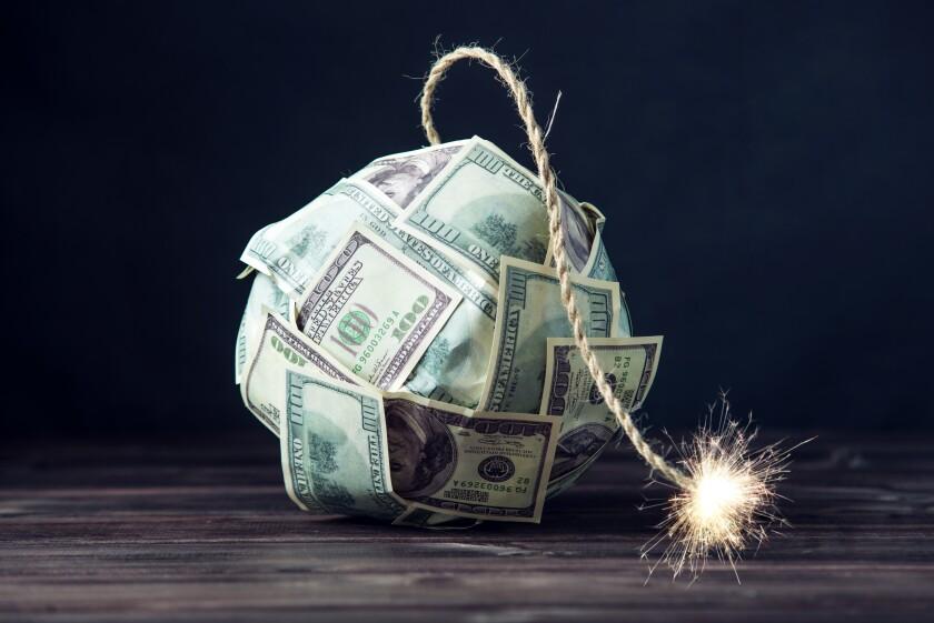 dollar crash bomb