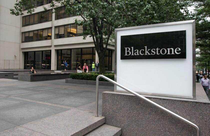 Blackstone hedge fund.