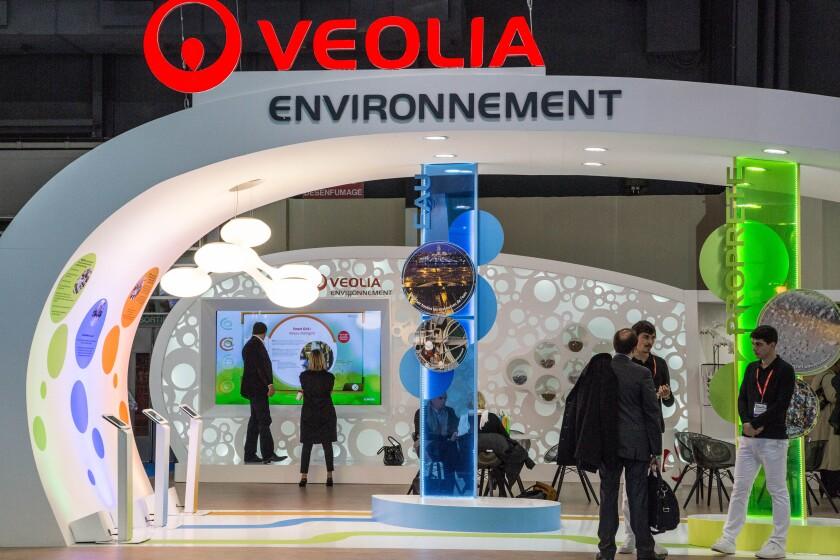 VEOLIA ENVIRONNEMENT, SALON DES MAIRES EXHIBITION FOR MAYORS AND LOCAL AUTHORITIES, PARIS