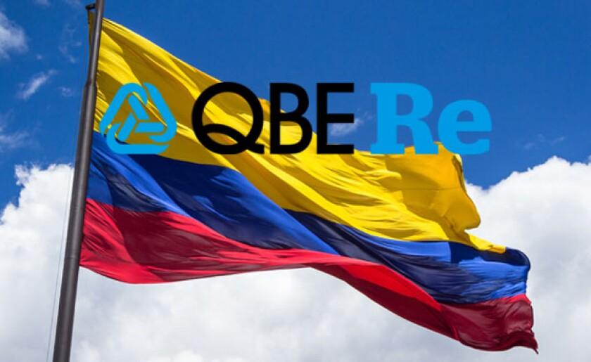 QBE Re Colombia flag.jpg