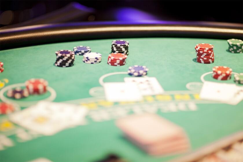 Blackjack table with game in progress casino.jpg