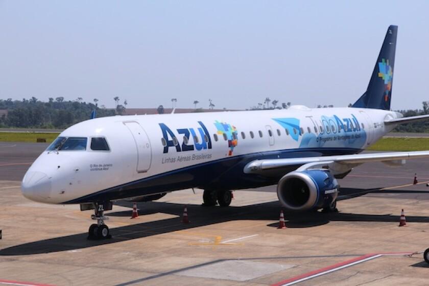 Brazil, Azul, airline, LatAm, 575