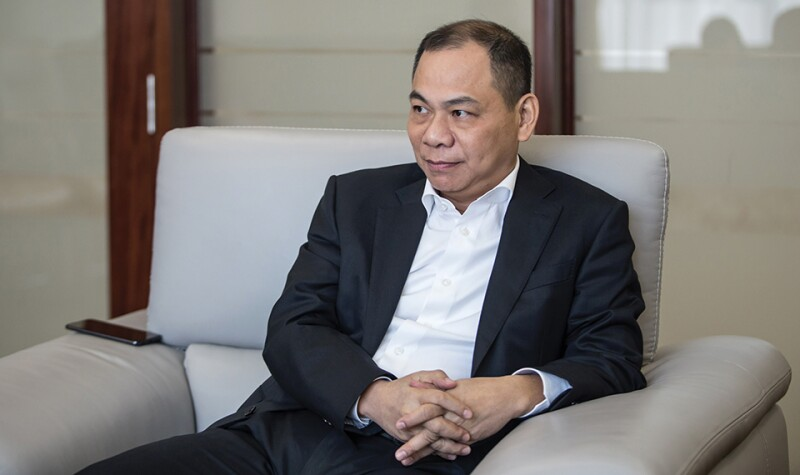 Vietnam's Richest Man Pham Nhat Vuong Bets $2 Billion to Sell Cars to Americans
