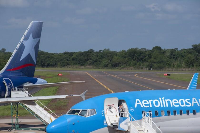 Argentina, Iguazu, airport, Aerolineas, Aeropuertos, LAtAm, 575