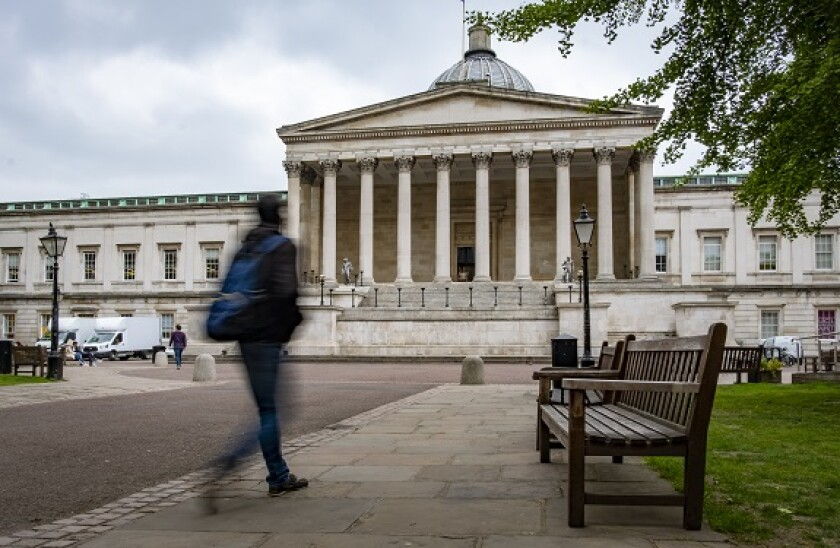 LONDON- University College London historic campus, a world leading research university central London